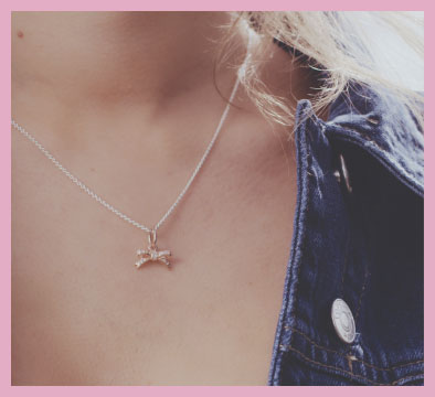Express your unforgettable moments glamour uk bonus trend tip why not layer your pendants we recommend the bow and feather pendants together on one silver pandora necklace mozeypictures Image collections