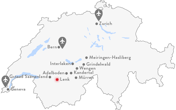 Lenk-Simmental Map