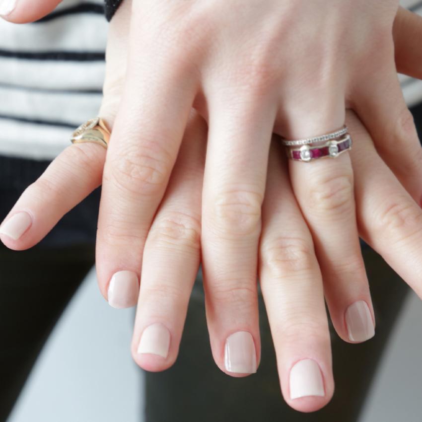 ring på finger