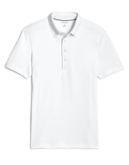 Men's Stretch Piqué Polo