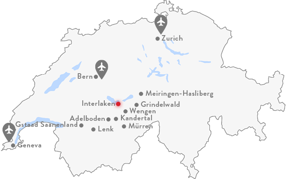 Interlaken Map